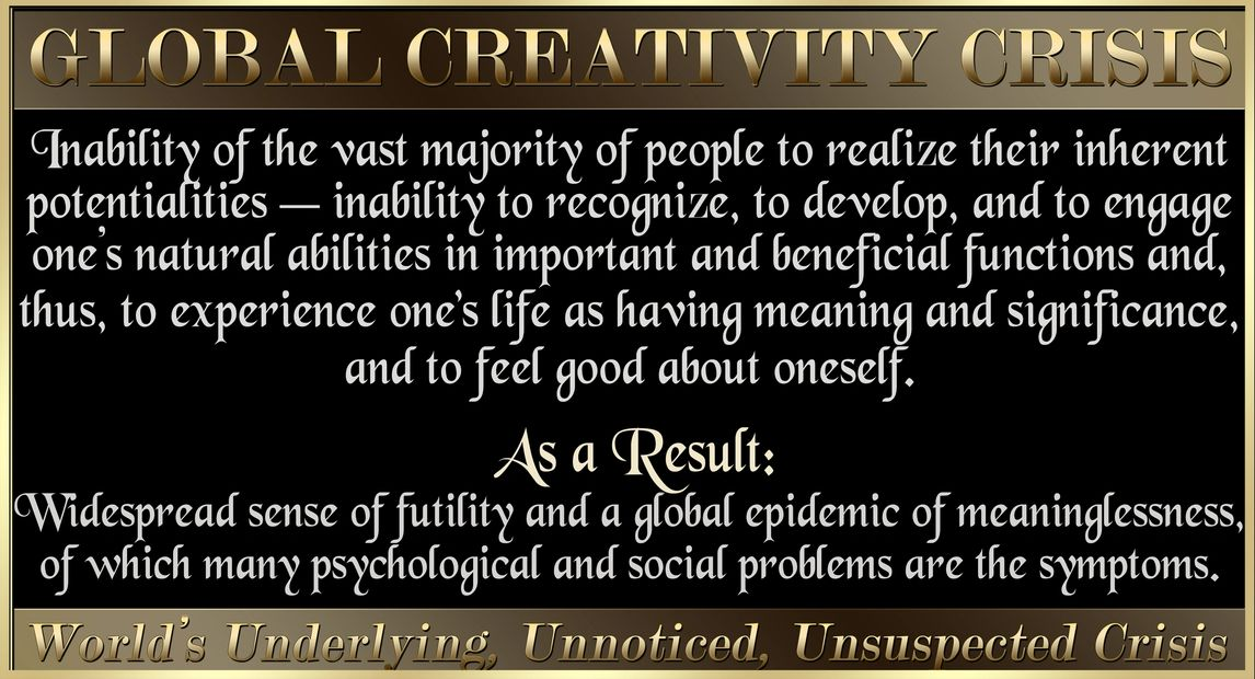 Creativity. Depression. Suicide Prevention. Therapy. Psychology. Social Problems. Diversity. Crime.
