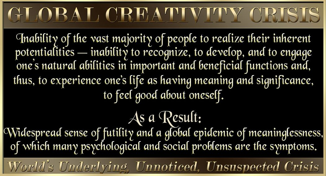 Creativity. Depression. Suicide Prevention. Therapy. Psychology. Social Problems. Diversity. Crime