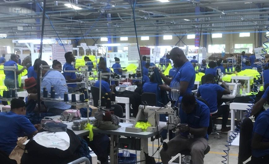 Uniwell Apparel - Apparel Manufacturing Factory Floor
