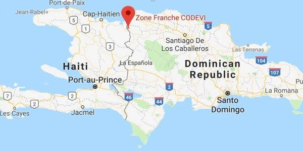 Uniwell Apparel - Manufacturing Location -Ouanaminthe Haiti on the border of Dominican Republic