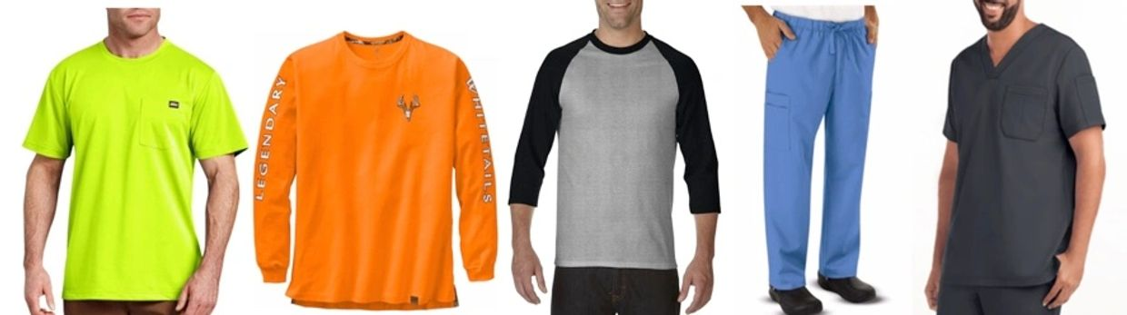Uniwell Apparel - Product Capabilities and Categories - Knit and Woven Tops and Bottoms