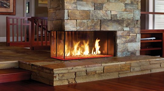 The DaVinci  Near-endless possibilities from the world's most innovative custom luxury fireplace.