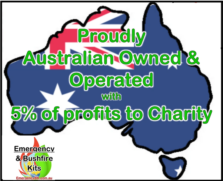 Australian owned, Australia operated, EmergencyBK, emergency kits, survival stores Australia