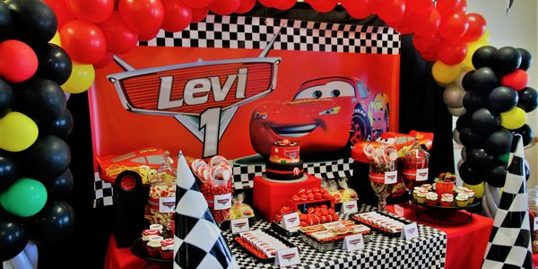 Disney Pixar Cars inspired 1st birthday