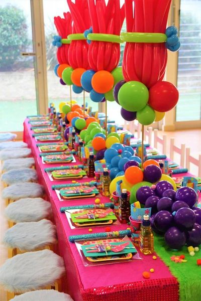 Trolls Party From Pop the Balloon's! Signature Party Range
