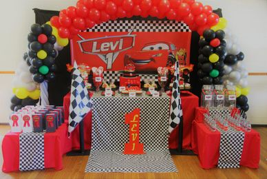 Disney Pixar Cars inspired 1st birthday by Pop the Balloon! Children's Parties & Events