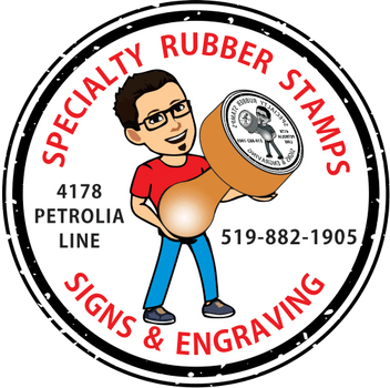 Specialty Rubber Stamps, Signs and Engraving
