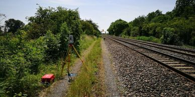 We undertake topographical surveys on railways for flood analysis for a number of our clients.