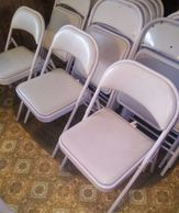 Chairs for Rent $1.00 Each Per Day Renter Picks up the Chairs Renter Returns the Chairs