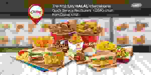 The first fully HALAL international Quick service restaurant (QSR) chain.