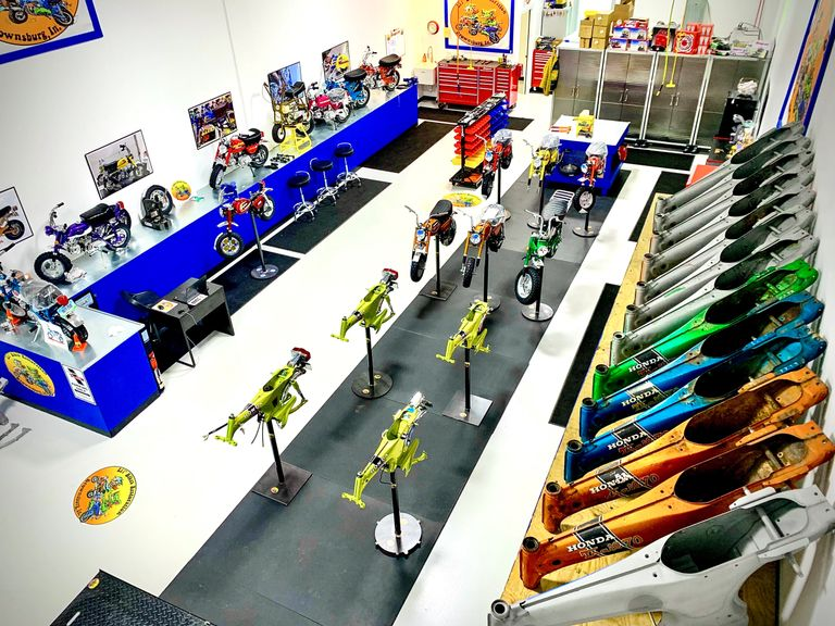 Lil' Bikes Restoration Shop in Brownsburg, Indiana