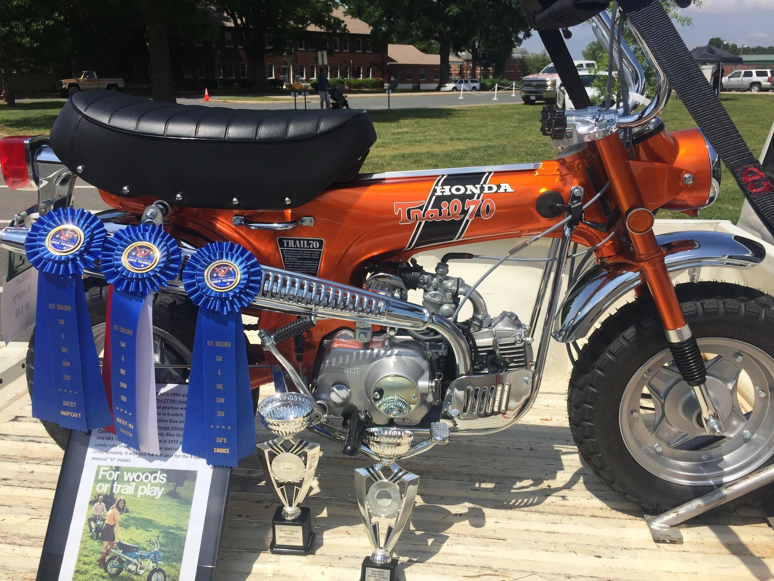NSF Dahlgren Car & Bike Show 2019 Awards