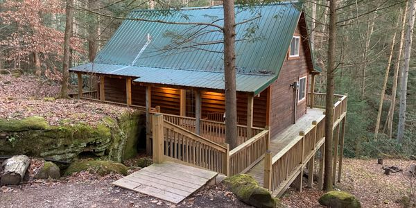 Shady Brook Climber Cabin at the Red River Gorge