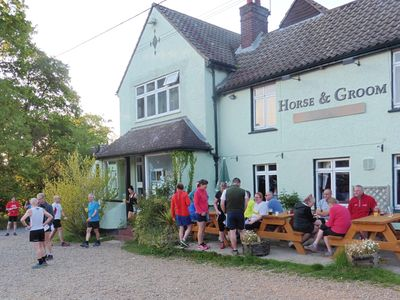 Horse & Groom venue for the Galleywood Gallop and The Hobble