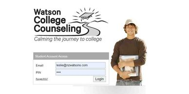 Watson College Counseling Custom College Plan