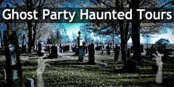 Ghost Party Haunted Tours Ghost Ticket to Haunted Mansion