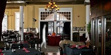 Ghost caught on before Ghost Tour at Haunted restaurant Chophouse Ybor City Tampa Florida