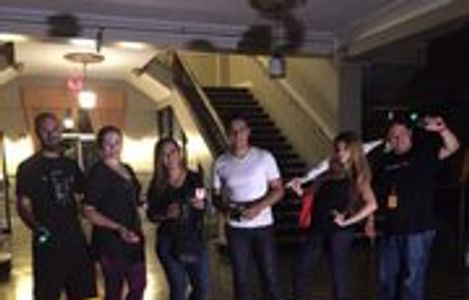 Halloween Ghost Hunting Ghost Tour with Telemundo crew