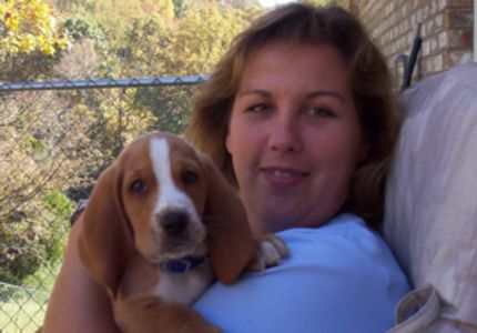Jennifer- Owner​/Pet Sitter Jennifer(with Woody)