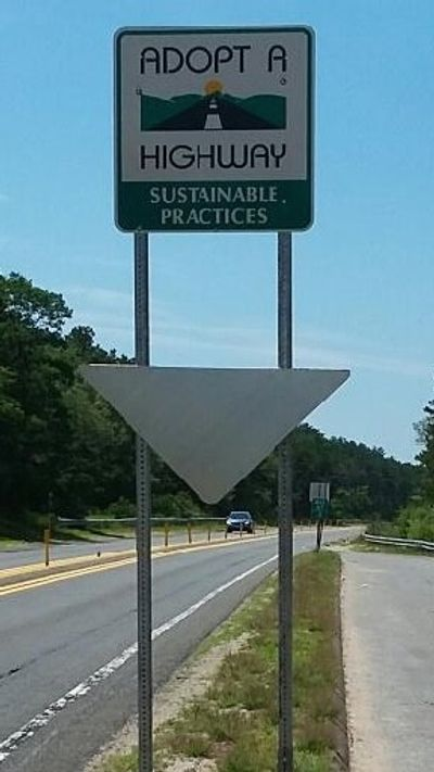 Sustainable Practices maintains Adopt a Highway and Adopt a Visibility sites along Highway 6.