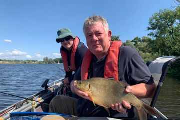 guided bream fishing trip with fishing in norfolk angling guides
