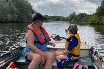 family fishing trip with fishing in norfolk angling guides