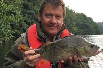 guided perch fishing trip with fishing in norfolk angling guides