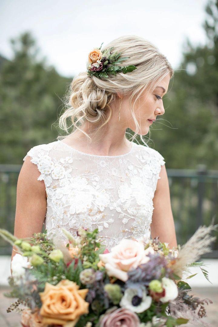 Estes Park Bridal Company Wedding Hair And Makeup Hair Stylist