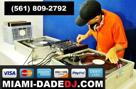 The Best Miami Hip Hop DJ services, Broward Hip Hop DJ services, & Palm Beach Hip Hop DJ services
