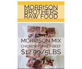 morrison brothers raw food