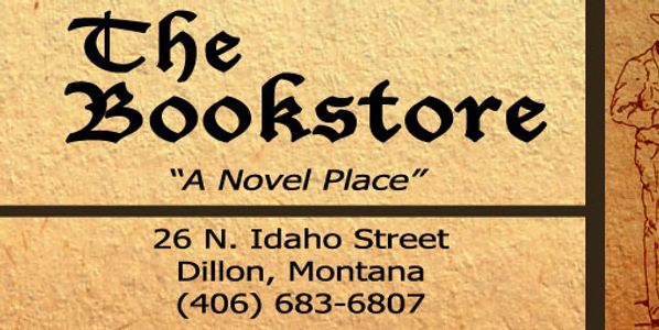The Bookstore of Dillon MT Montana Book Read Shop Store Local Augusta #augustamt #augustachamber