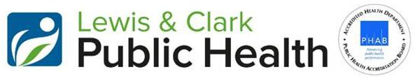 Logo for the Lewis & Clark Public Health Department, Augusta Public Health Nurse Montana MT