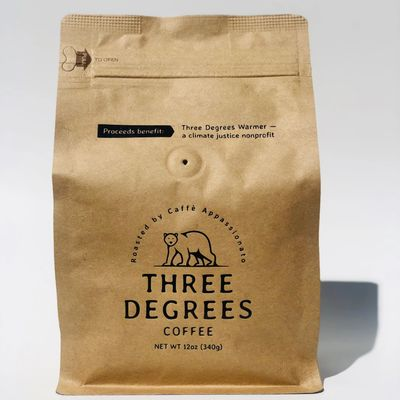 Three Degrees Coffee: Origins: Indian Plantation, Ethiopian and Monsoon Malabar Light Roast