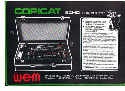 WEM Copicat Echo Machine