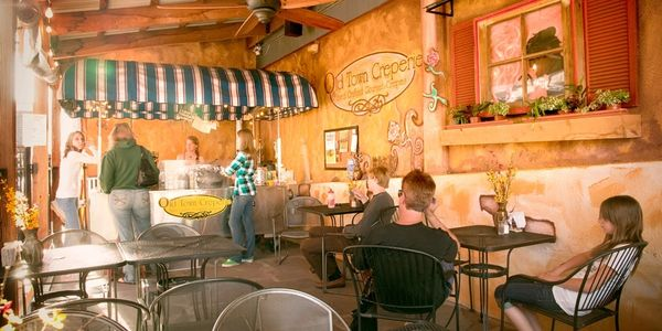 Old Town Creperie in the Old Town Shops Downtown Flagstaff