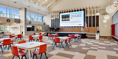 Radiance LED, Digital Projection, DPI, Wesport CT Library