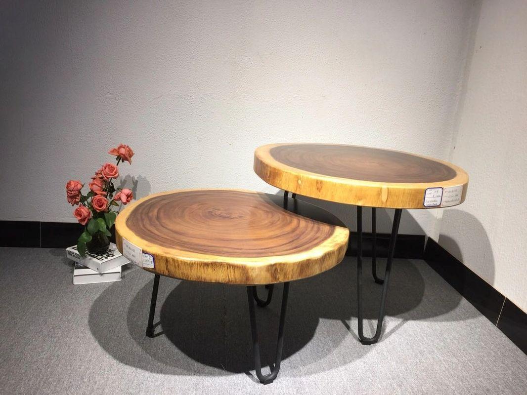 Picture of: Live Edge Round Fuzhou Guge Wood Slab Co Ltd Live Edge Slab Table Suar Wood Bubinga Slab Furniture From China For Sale