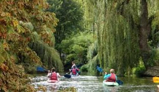 Croydon Active Paddlers Whitewater trip