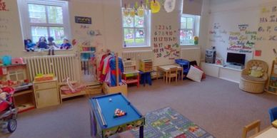 Early years and pre school activity area in kids after school club in Brentwood
