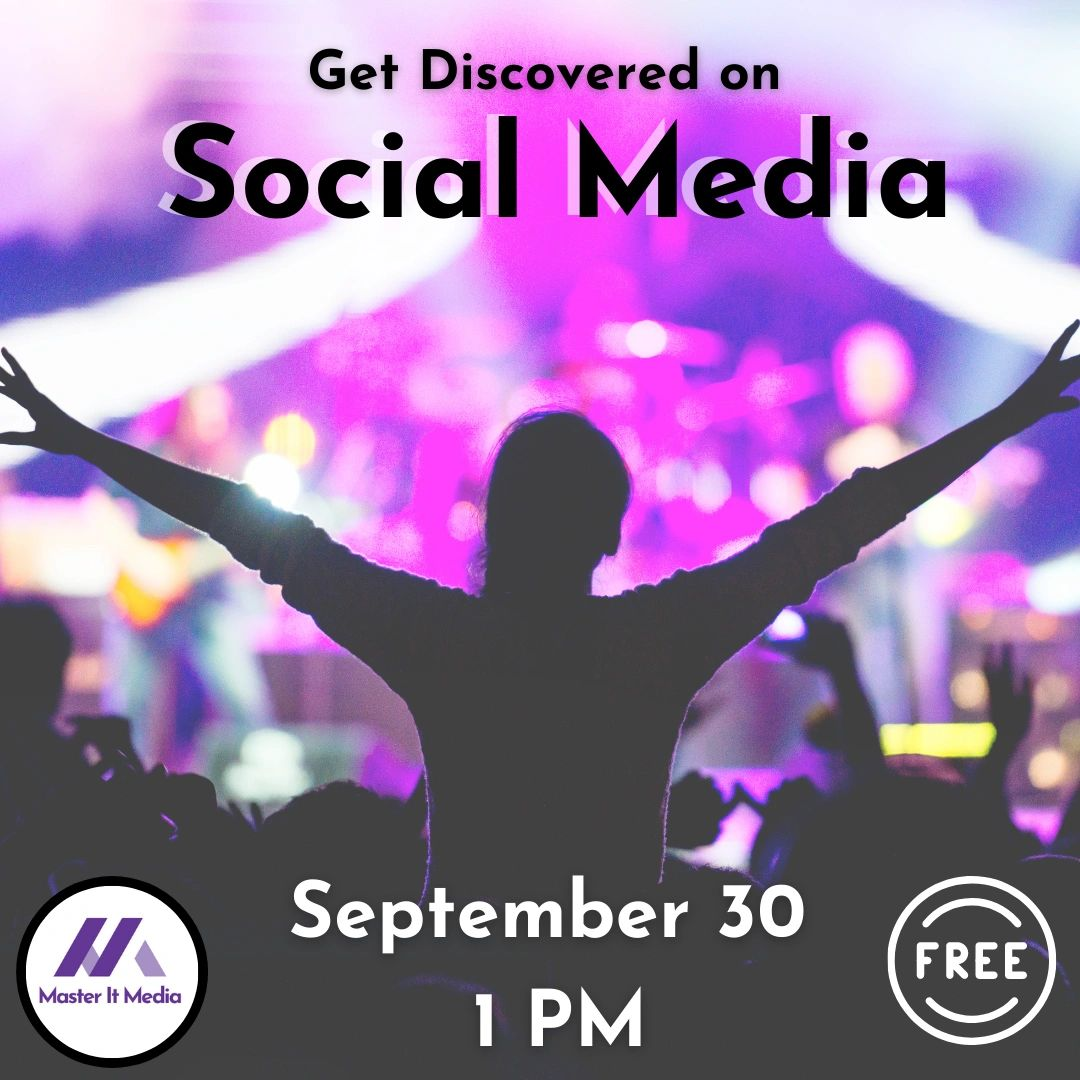Get discovered webinar graphic