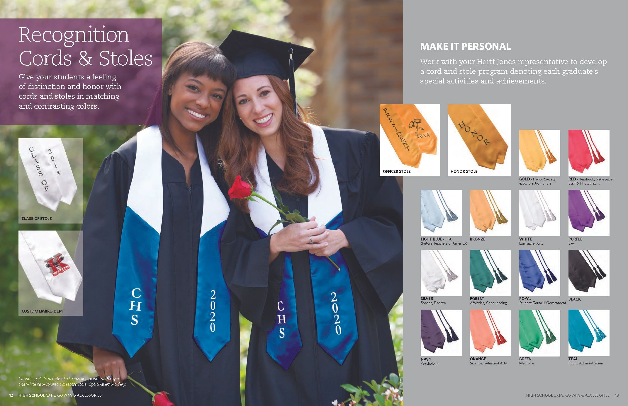 Magnificent Herff Jones Cap And Gown High School Gallery - Ball Gown ...