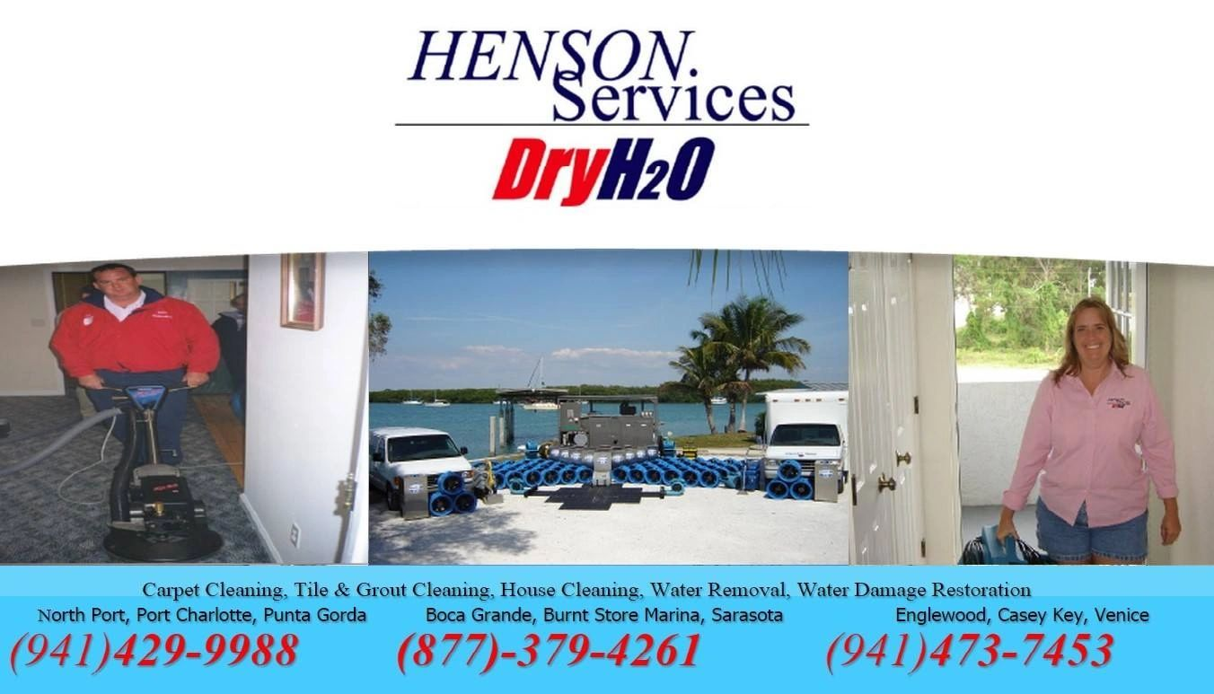 House Cleaning, Carpet Cleaning, Water Removal  North Port Englewood Venice Boca Grande