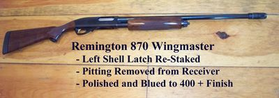 Here's an example of what we can do with a favorite old waterfowler