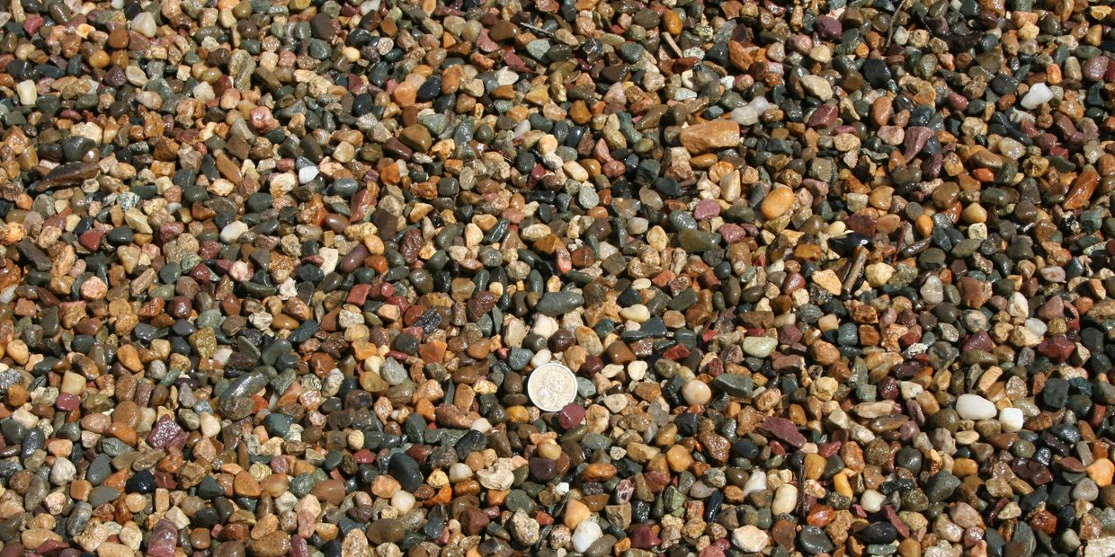Multi-Color Pea Gravel
