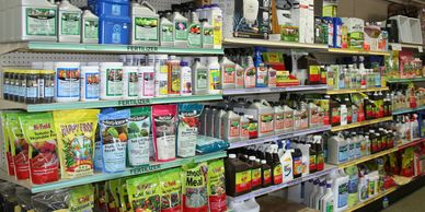 Lawn and Garden Care Retail Products: Fertilizer, Root Stimulator, Insecticides, Flower Care, more.
