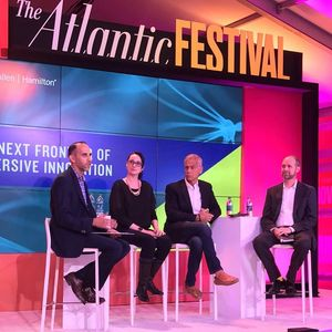 Amber Osborne Speaking at Atlantic Festival about Virtual Reality