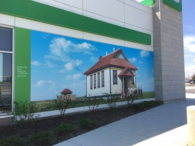 Exterior Wall Graphics