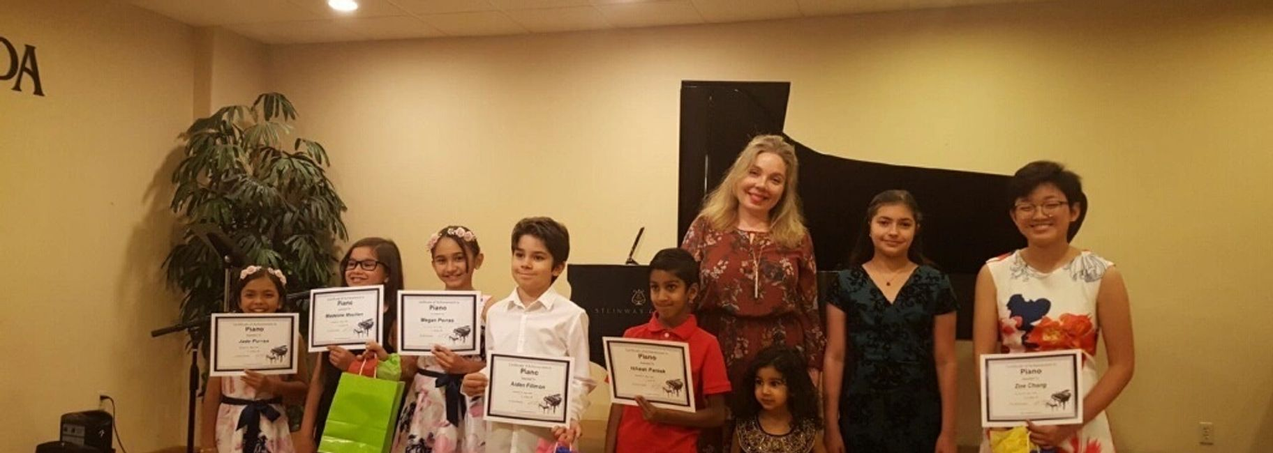 Piano Lessons for Children and Adults of all ages and levels at the Las Vegas Piano School