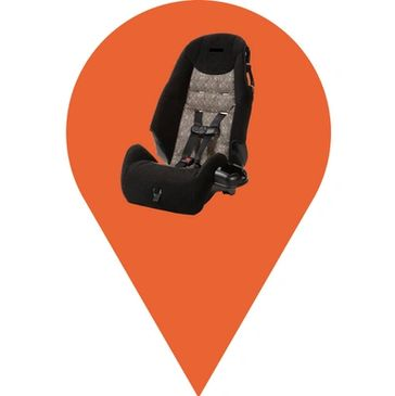 Airport transfer with baby car seats