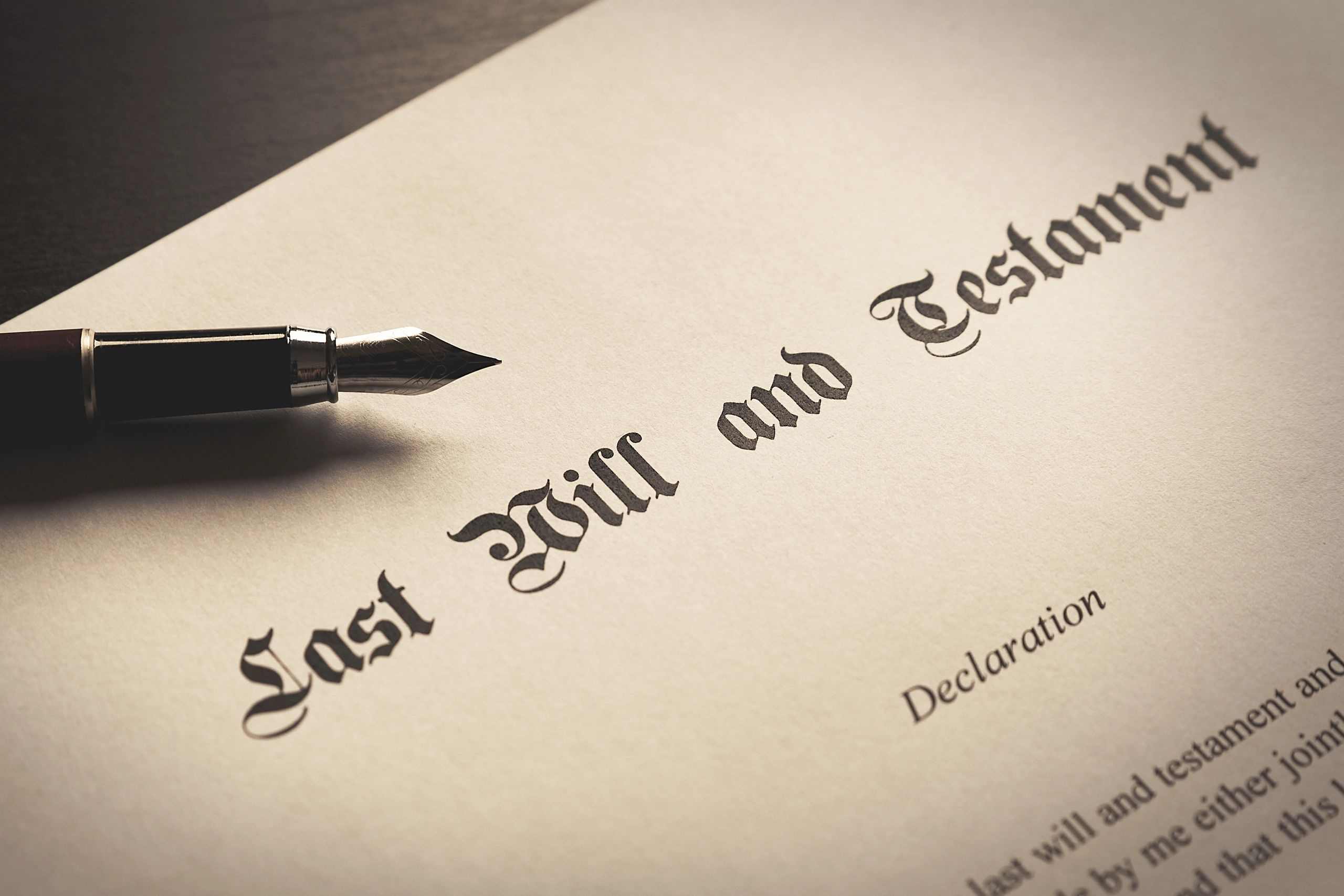 Will, Estate, Probate, Letters of Adminstration